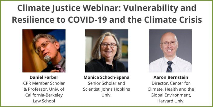 Climate Justice Webinar Participants