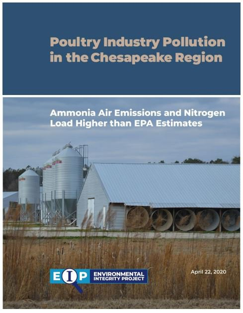 Environmental Integrity Project Report: Poultry Pollution in the Chesapeake Region