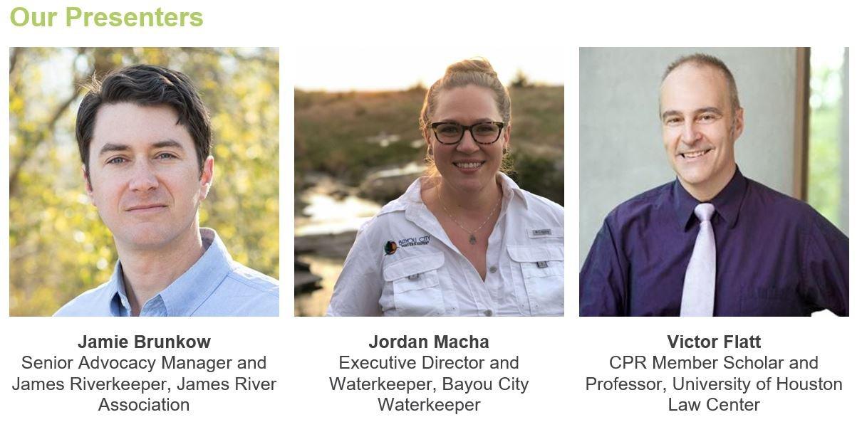 Toxic Floodwaters Webinar Speakers